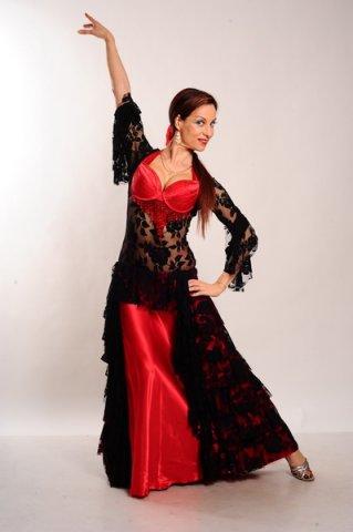 Платья для испанских танцев